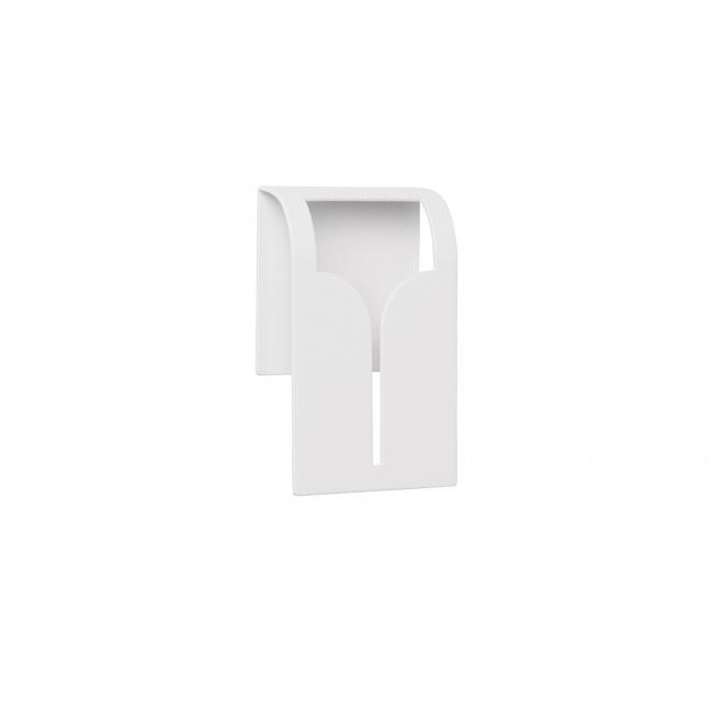 Wieszak na ręcznik Bogo przyklejany biały