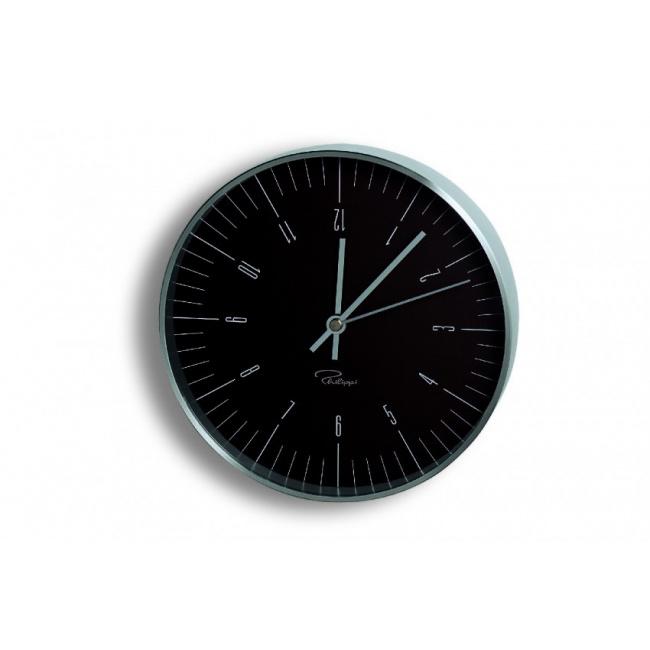 Zegar ścienny Tempus 20cm czarny