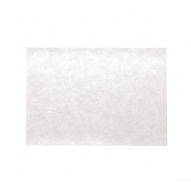 Podkładka Vegan Leather 46x33cm biała