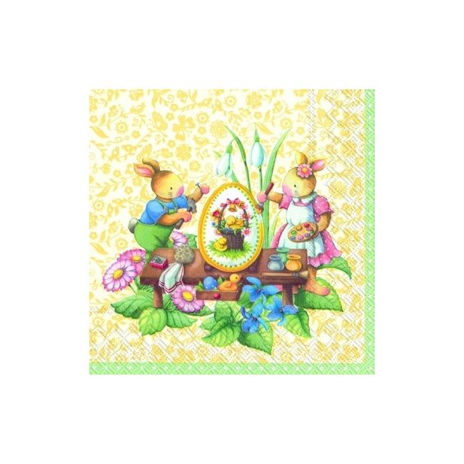 Serwetki 33cmx33cm Spring Fantasy
