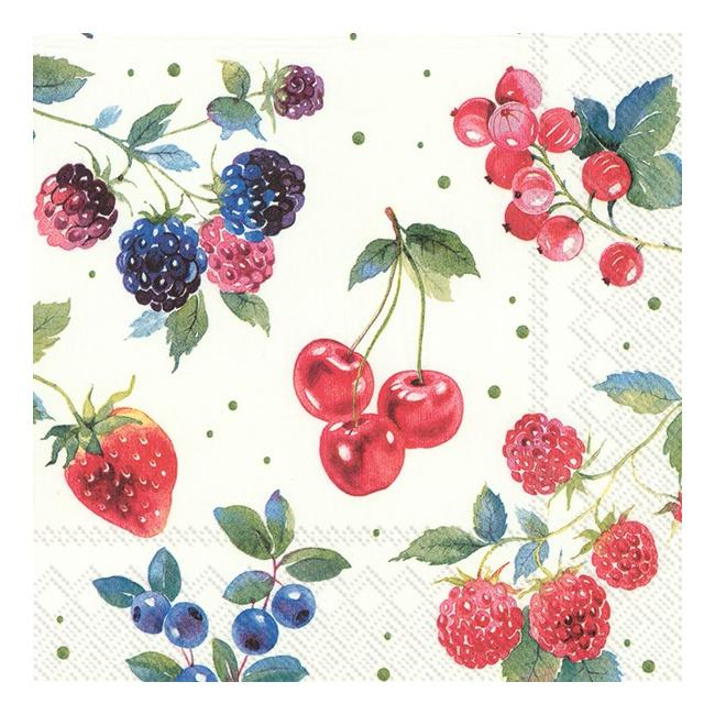 Serwetki 33x33cm Summer fruits 20szt.