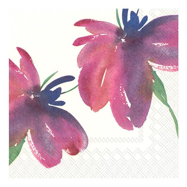 Serwetki 33x33cm Artesano Flower Art 20szt.