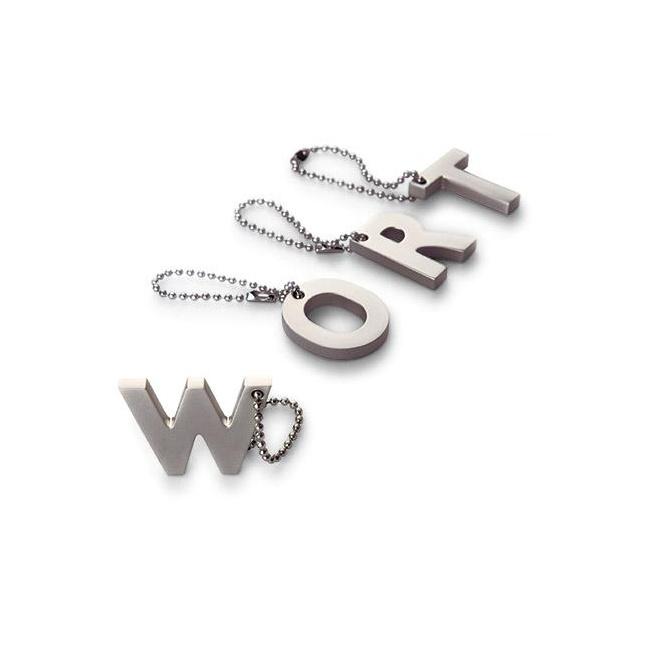 Brelok My letters W