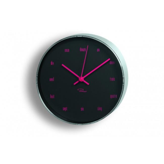 Zegar ścienny Tempus czarny