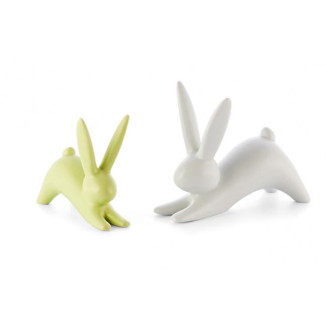 Królik Bunny 8cm limonkowy 1 sztuka