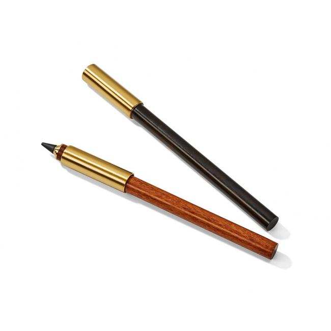 Permanentny ołówek z 2 końcówkami czarny