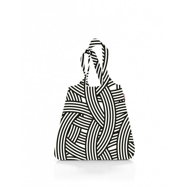 Siatka Mini maxi shopper 15l zebra