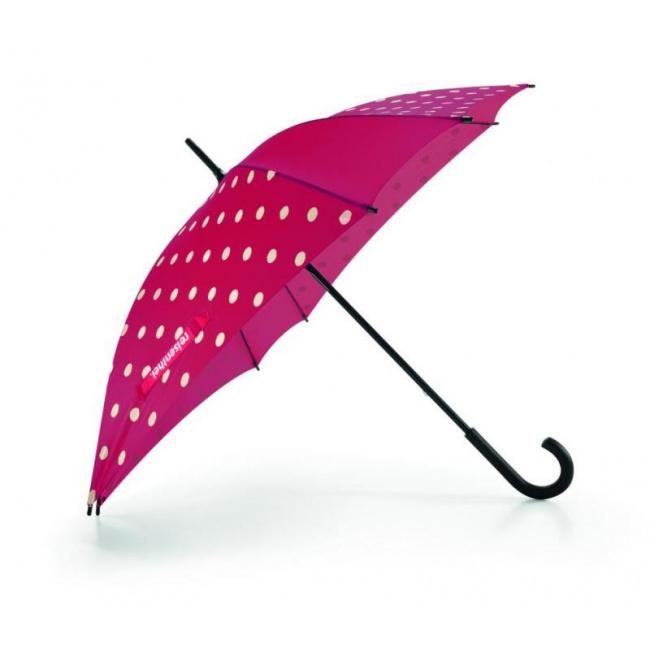 Parasol Ruby kropki