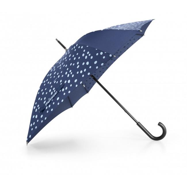 Parasol Umbrella spots navy