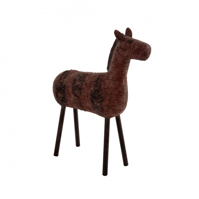 Dekoracja koń 36x30x10cm