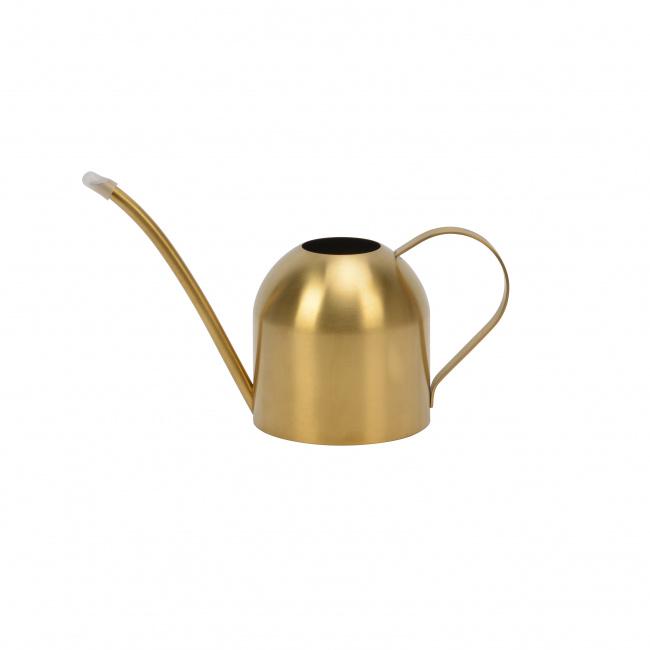 Konewka Flory 12cm złota stalowa