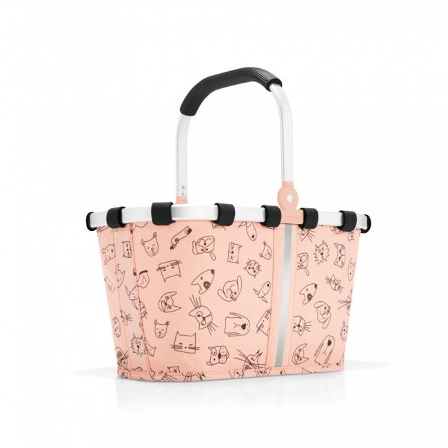 Koszyk Carrybag kids koty i psy 5l różowy