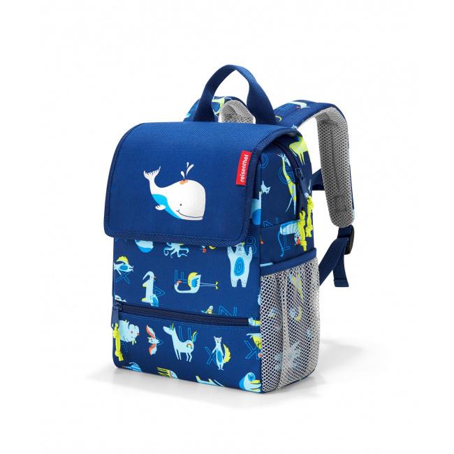 Plecak Backpack kids abc friends 5l niebieski