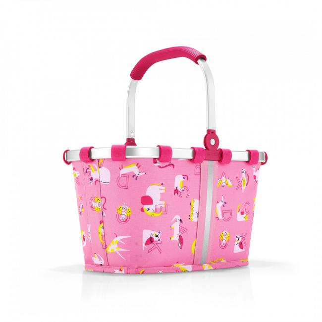 Koszyk Carrybag kids abc friends 5l różowy