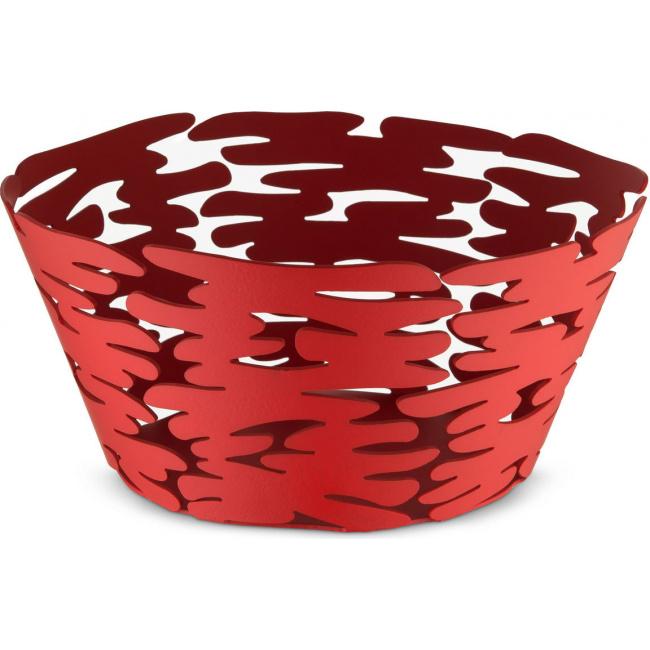 Kosz Barket 21cm czerwony