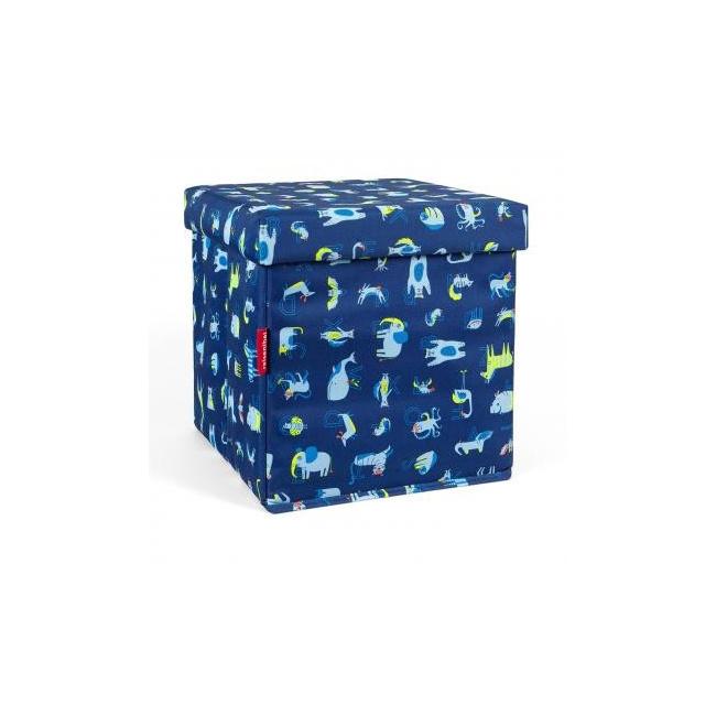 Pufa Sitbox kids abc friends 27l niebieska