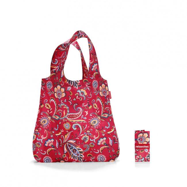 Siatka Mini maxi shopper 15l paisley ruby