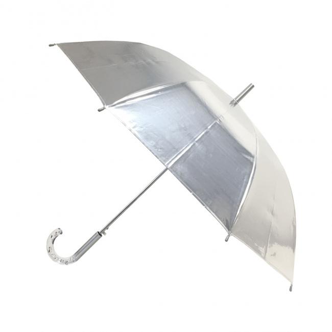 Parasol długi metaliczny