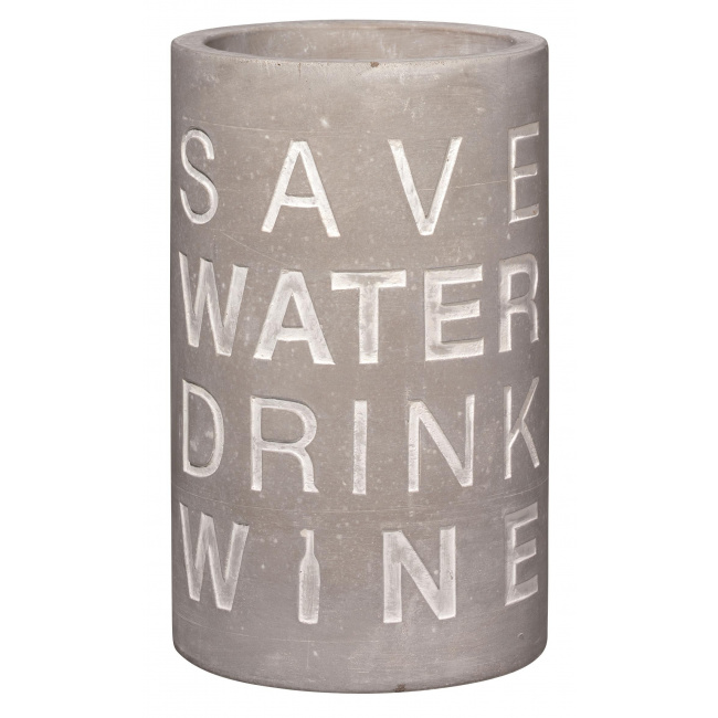 Cooler Save water drink wine