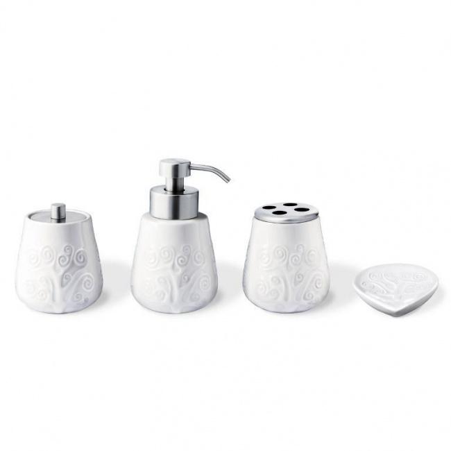 Komplet łazienkowy - 4 elementy