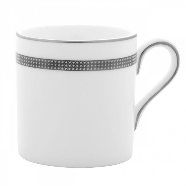 Filiżanka Vera Wang Lace Platinum 80ml do espresso
