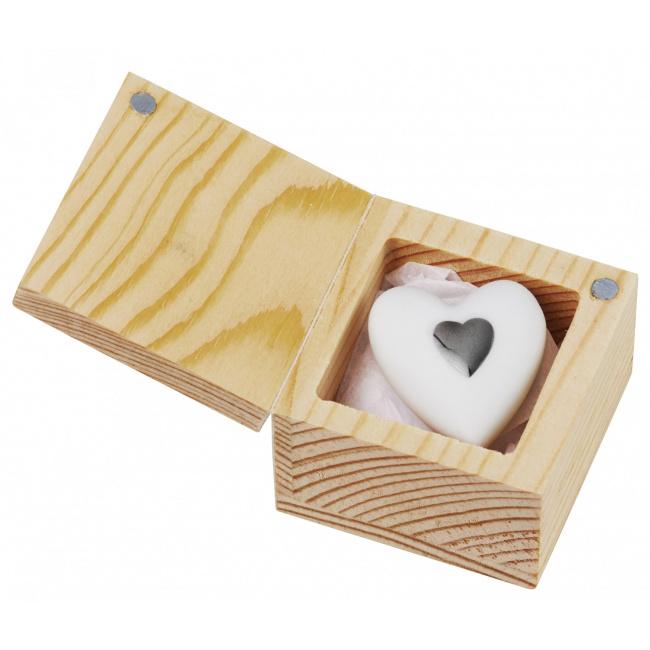 Amulet pudełeczku Serce