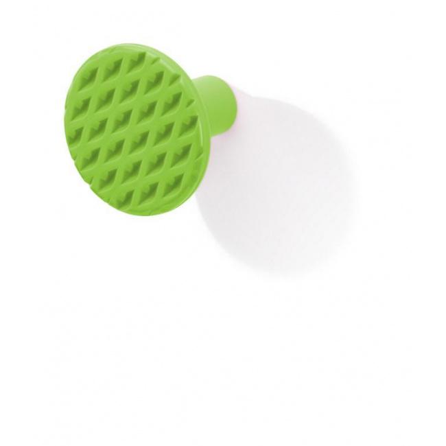Wieszak ścienny zielony