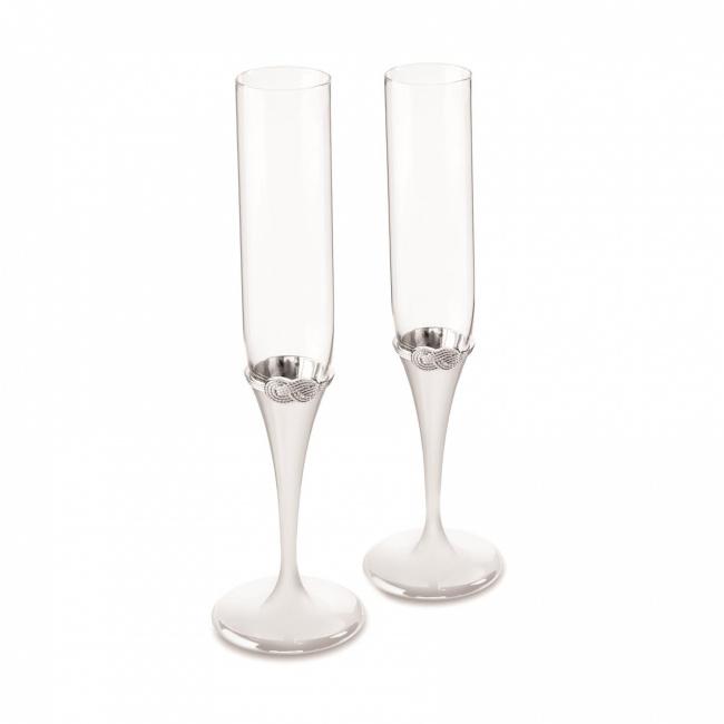 Komplet 2 kieliszków Vera Wang do szampana