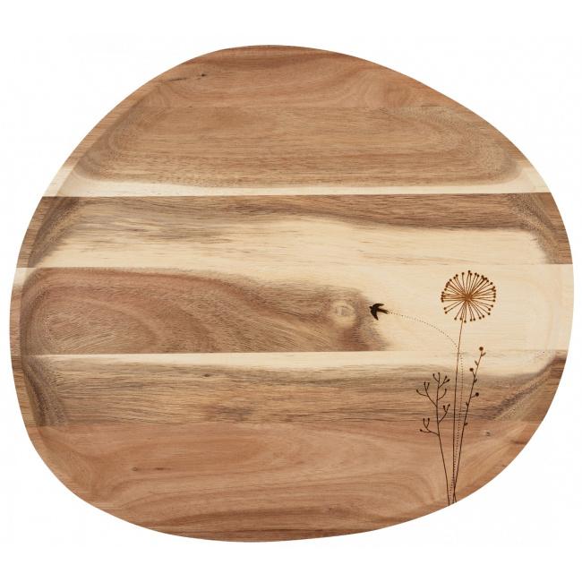 Taca Dmuchawiec drewniana