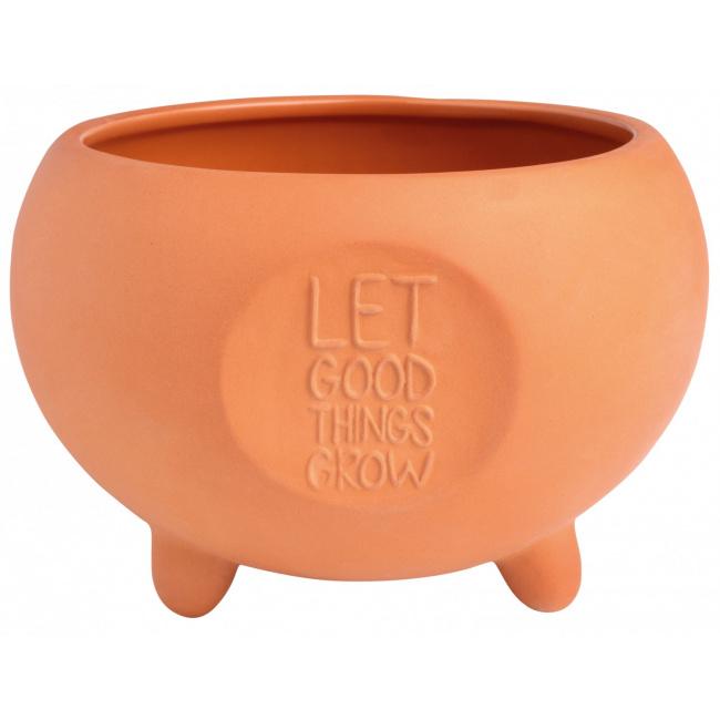 Doniczka zewnętrzna Let good things… 10cm