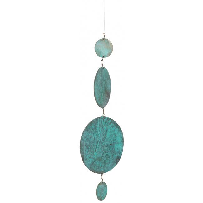 Łańcuch dekoracyjny 40cm metalowe kółka