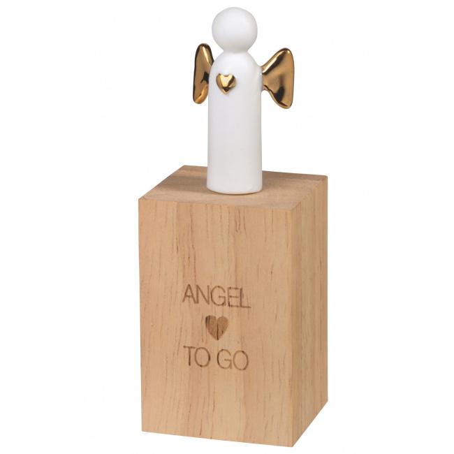 Amulet pudełeczku Aniołek