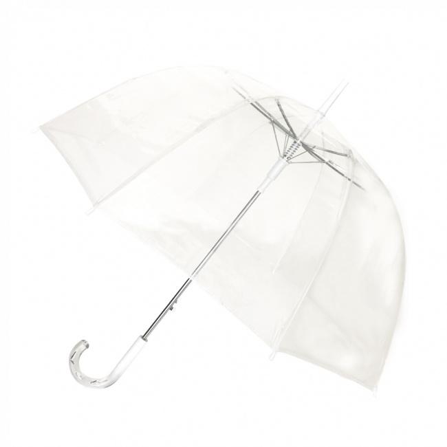 Parasol długi kopuła przezroczysty