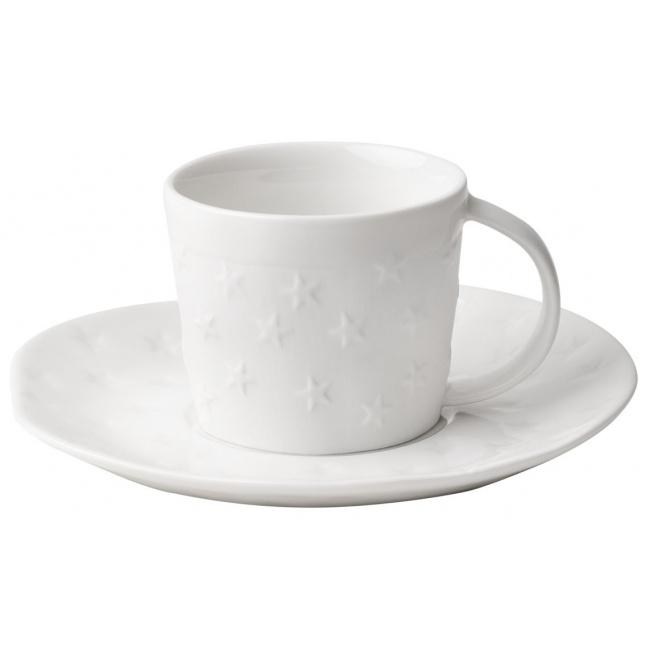 Filiżanka Stars 75ml do espresso ze spodkiem