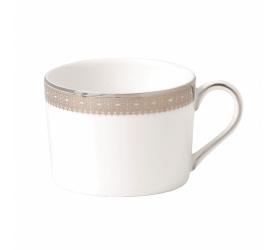 Filiżanka Vera Wang Lace Platinum 150ml do herbaty