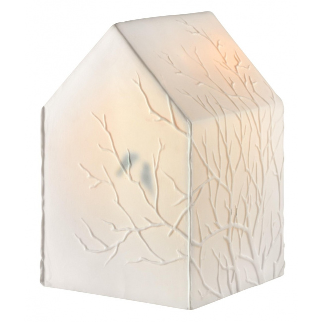 Lampka Domek ptaki na gałęziach