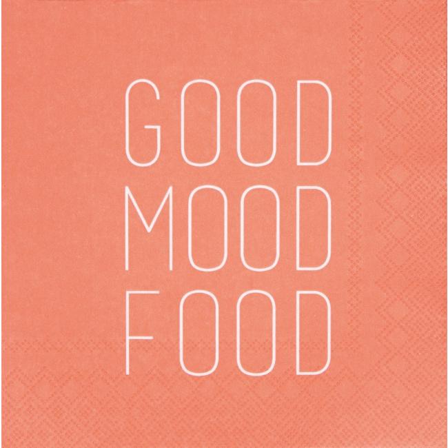 Serwetki 33x33cm Good mood food 20szt.