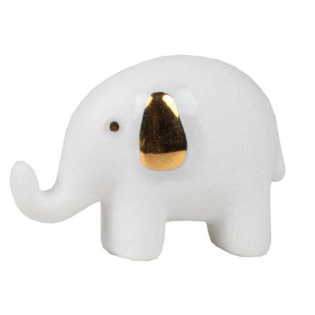 Amulet w pudełeczku słonik