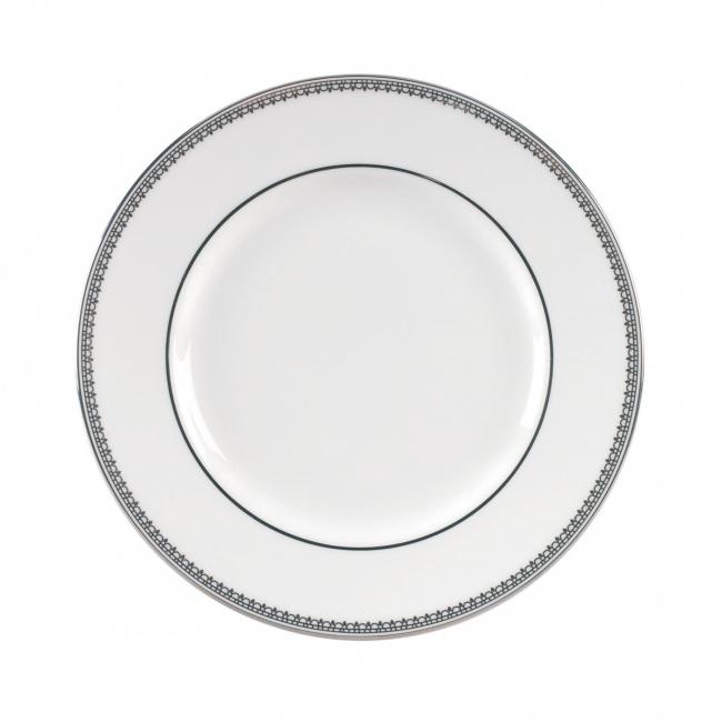 Talerz Vera Wang Lace Platinum 15cm deserowy