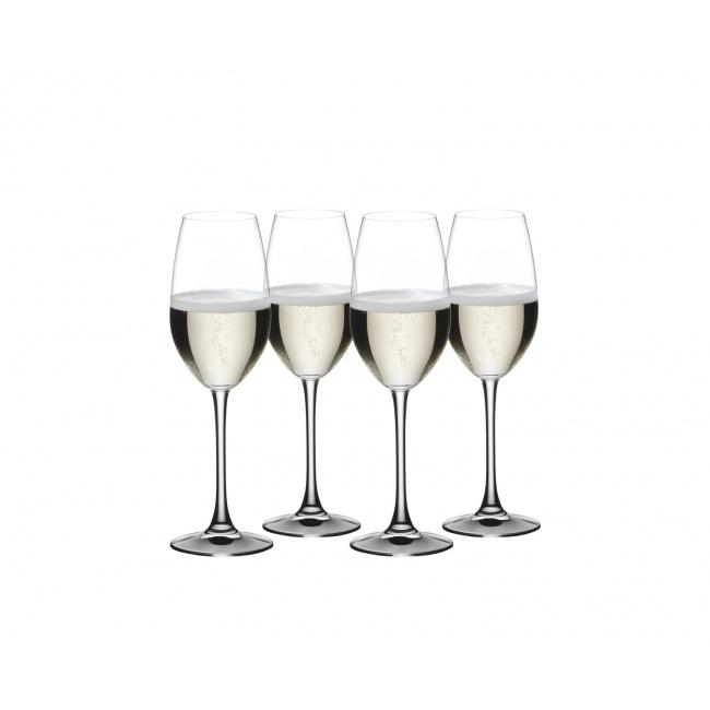 Komplet 4 kieliszków Vivino Champagne 260ml