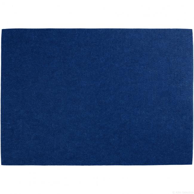 Podkładka filcowa 46x33cm niebieska