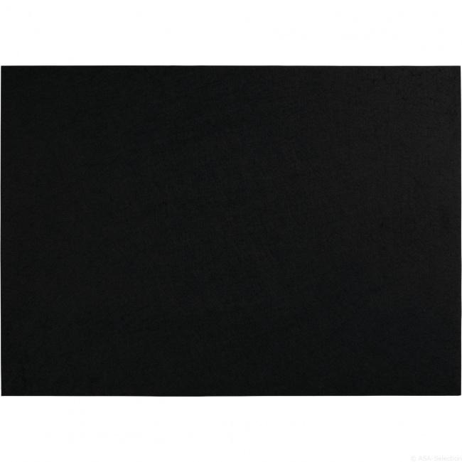 Podkładka filcowa 46x33cm czarna