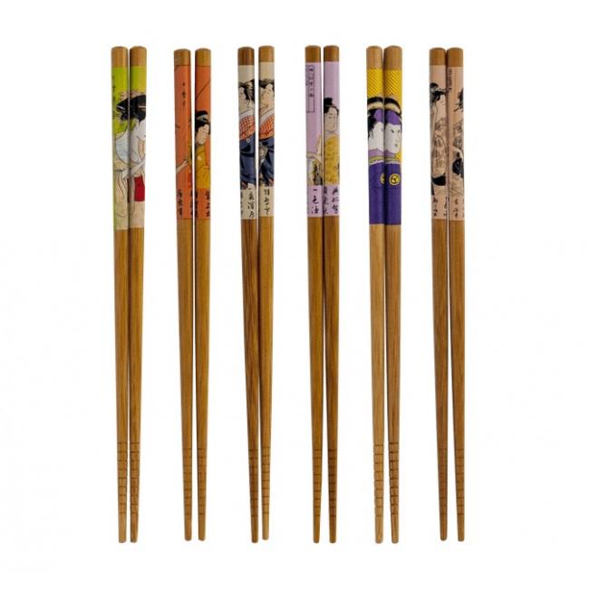 Pałeczki japońskie Geisha 22,5cm (mix 1 para)