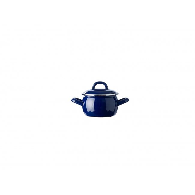 Garnek Mini Cocotte 10cm 550ml niebieski
