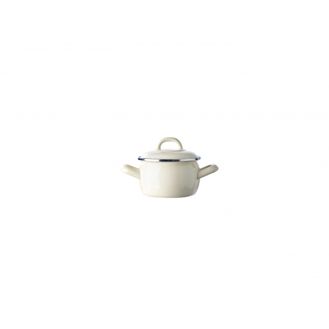 Garnek Mini Cocotte 10cm 550ml kremowy