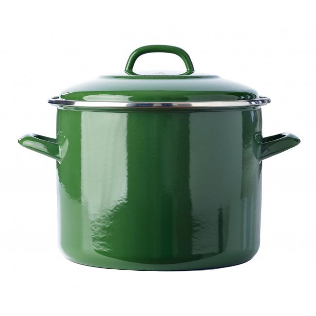 Garnek Soeppan 24cm 8,7l zielony
