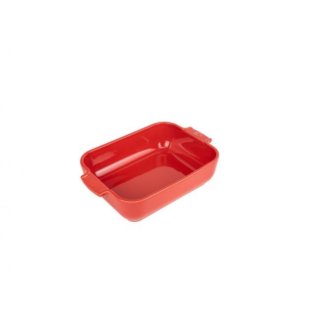 Naczynie Appolia 25x17cm czerwone