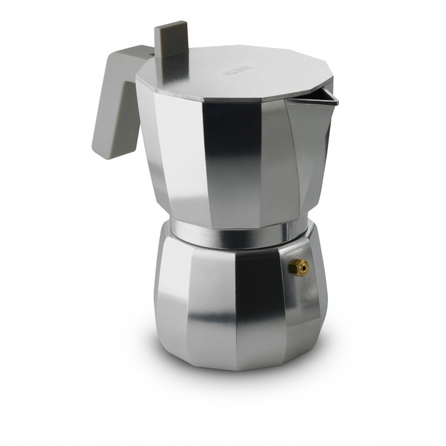 Kawiarka ciśnieniowa aluminiowa Moka 6-filiż.