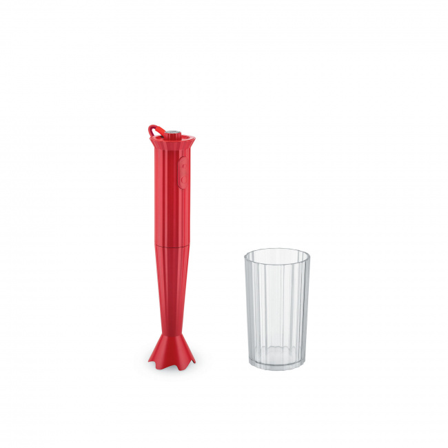 Blender ręczny Plisse czerwony