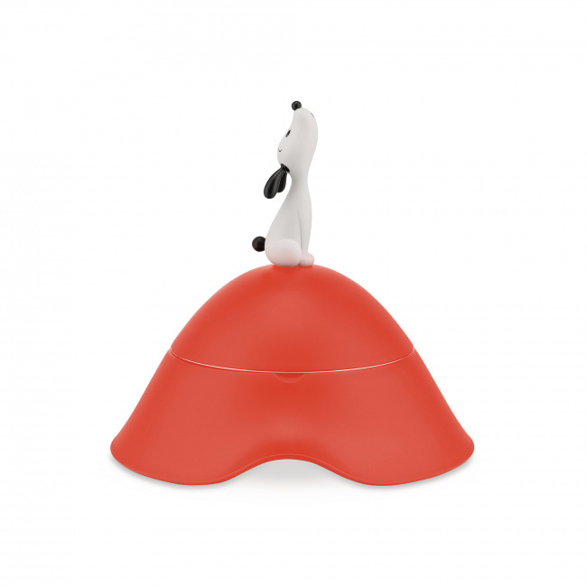 Miska Lulà dla psa czerwono-pomarańczowa